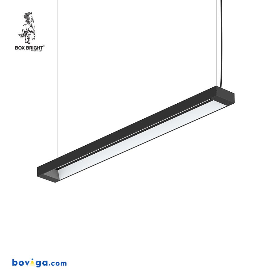 40W | โคมไฟเพดานแบบยาว รุ่น DB25 สีดำ | แบรนด์ BOX BRIGHT