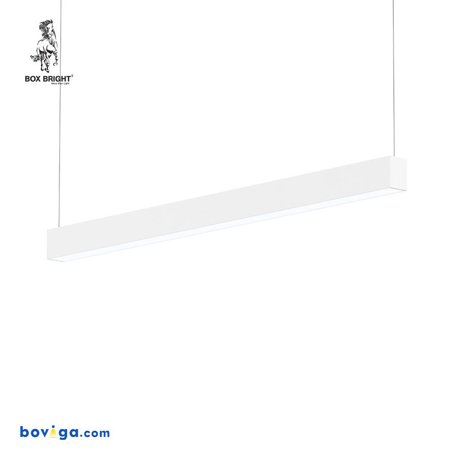 42W | โคมไฟเพดานแบบยาว รุ่น DB66A สีขาว | แบรนด์ BOX BRIGHT