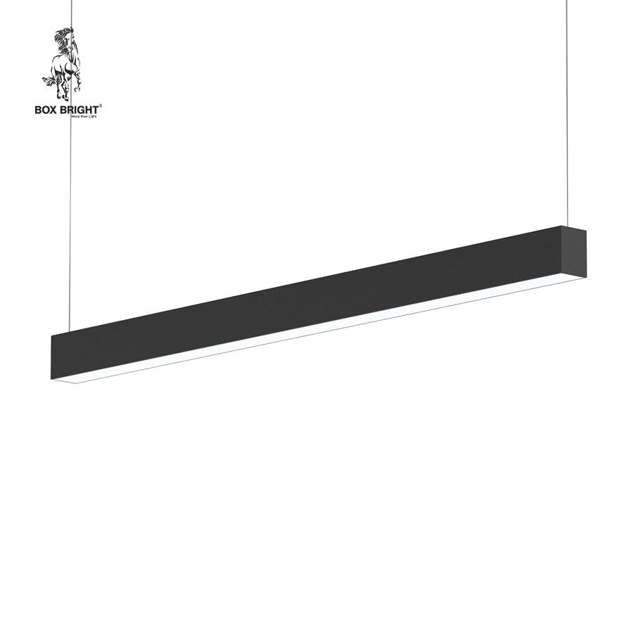 42W | โคมไฟเพดานแบบยาว รุ่น DB66A สีดำ | แบรนด์ BOX BRIGHT