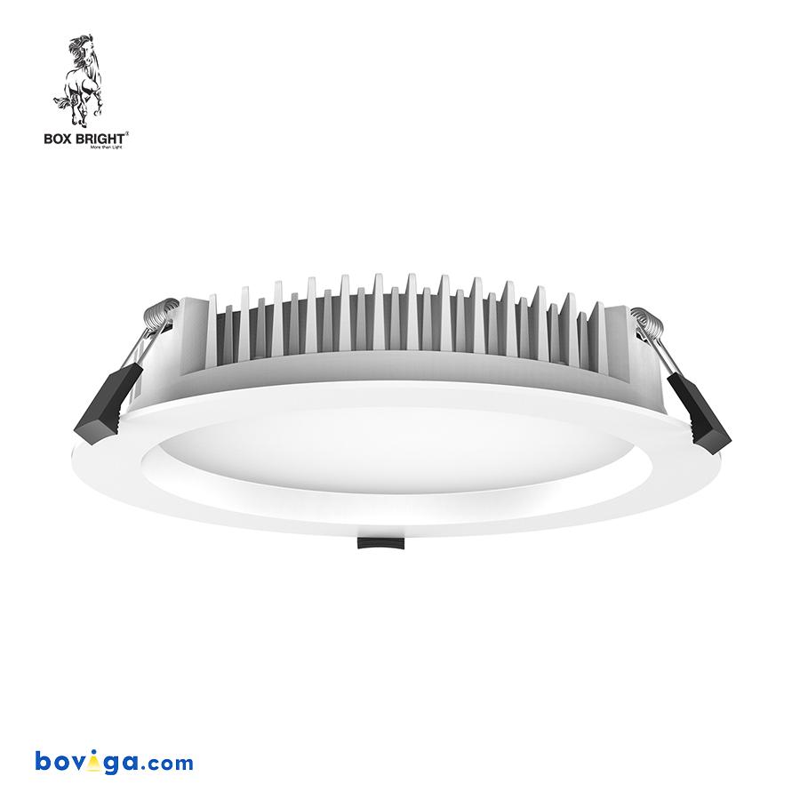 25W โคมไฟดาวน์ไลท์ฝังฝ้ารุ่น CL59 หน้ากว้าง 8 นิ้ว สีขาว | แบรนด์ BOX BRIGHT