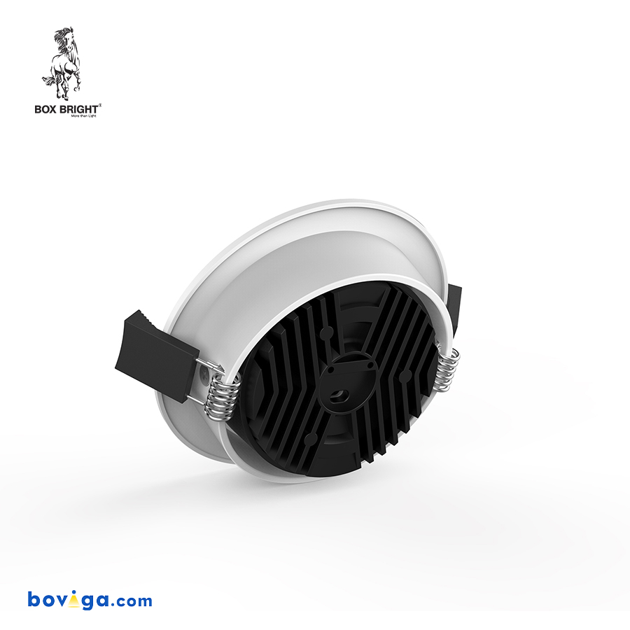 10W โคมไฟดาวน์ไลท์ฝังฝ้ารุ่น CL88 หน้ากว้าง 90 มิลลิเมตร สีขาว   แบรนด์ BOX BRIGHT