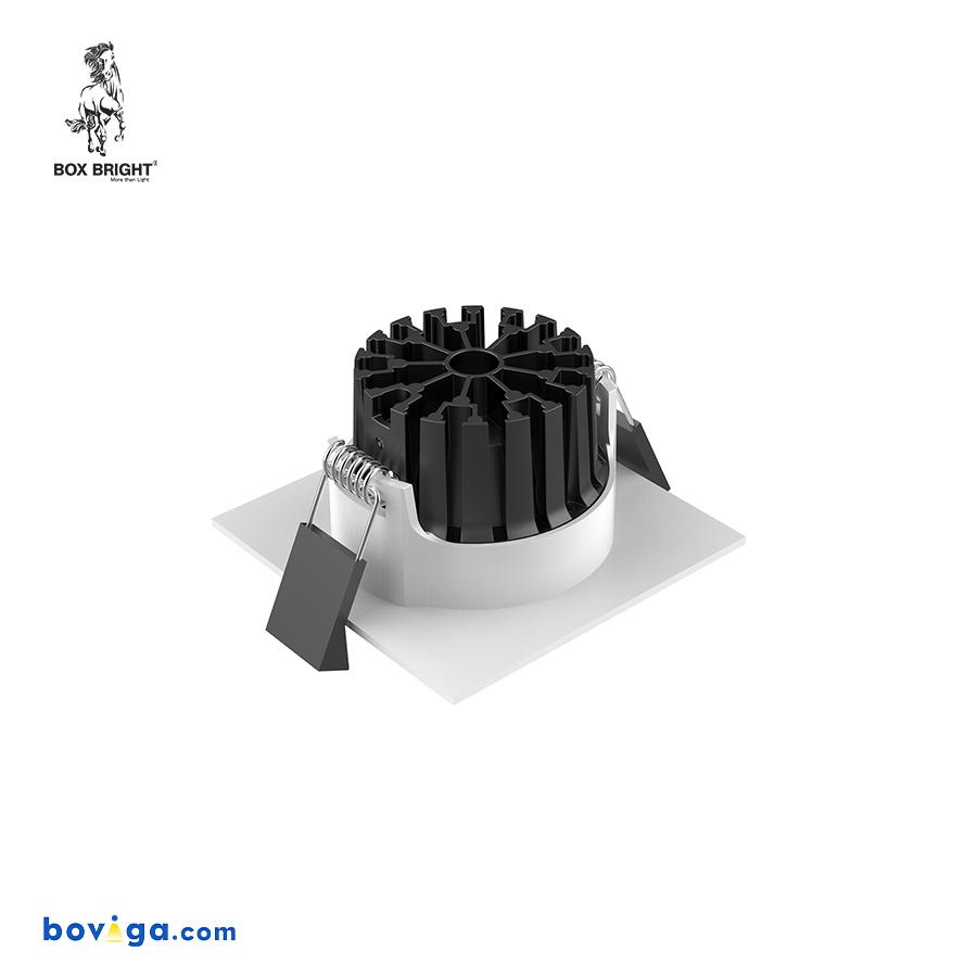 18W โคมไฟดาวน์ไลท์ฝังฝ้ารุ่น DL104A หน้ากว้าง 2.5 นิ้ว สีขาว | แบรนด์ BOX BRIGHT