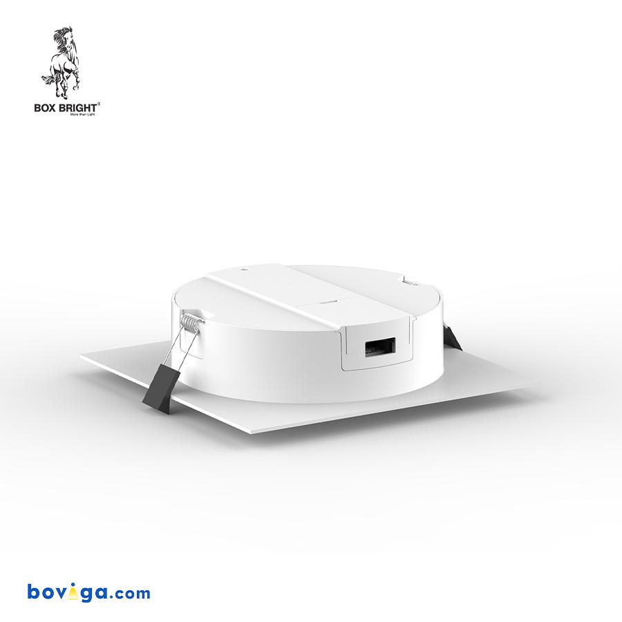 18W โคมไฟดาวน์ไลท์ฝังฝ้ารุ่น DL105 หน้ากว้าง 6 นิ้ว สีขาว | แบรนด์ BOX BRIGHT