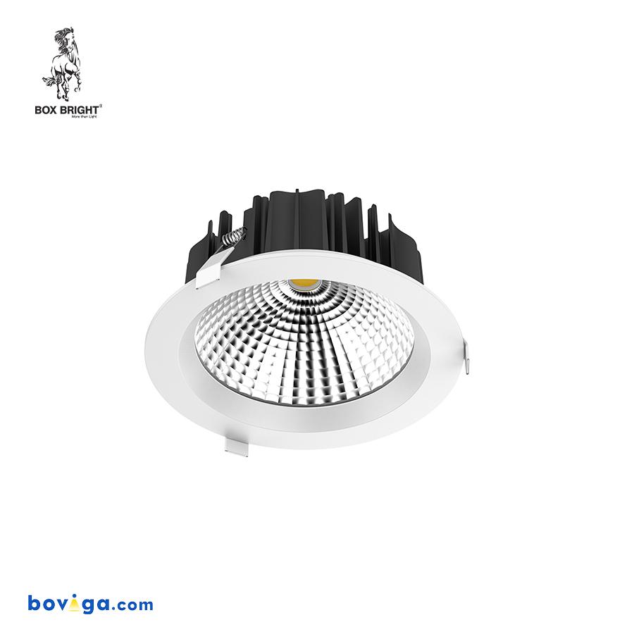 18W โคมไฟดาวน์ไลท์ฝังฝ้ารุ่น DL22 หน้ากว้าง 6 นิ้ว สีขาว | แบรนด์ BOX BRIGHT