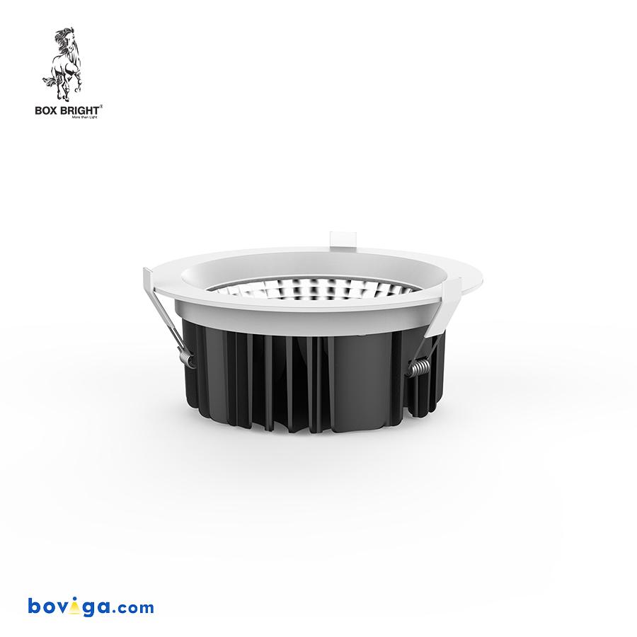 18W โคมไฟดาวน์ไลท์ฝังฝ้ารุ่น DL22 หน้ากว้าง 4 นิ้ว สีขาว | แบรนด์ BOX BRIGHT