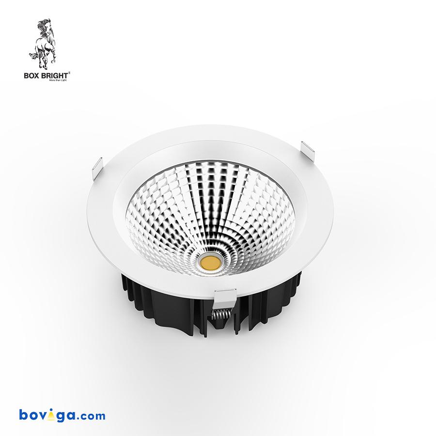 25W โคมไฟดาวน์ไลท์ฝังฝ้ารุ่น DL22 หน้ากว้าง 8 นิ้ว สีขาว | แบรนด์ BOX BRIGHT