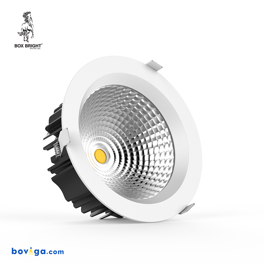 45W โคมไฟดาวน์ไลท์ฝังฝ้ารุ่น DL22 หน้ากว้าง 8 นิ้ว สีขาว | แบรนด์ BOX BRIGHT