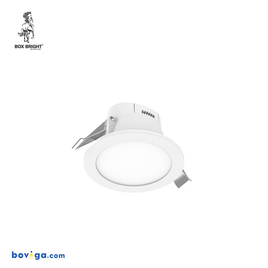 7W โคมไฟดาวน์ไลท์ฝังฝ้ารุ่น DL41C หน้ากว้าง 2.5 นิ้ว สีขาว | แบรนด์ BOX BRIGHT