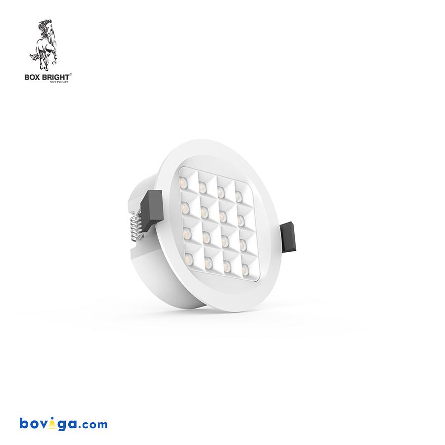 10W โคมไฟดาวน์ไลท์ฝังฝ้ารุ่น DL96 หน้ากว้าง 3 นิ้ว สีขาว   แบรนด์ BOX BRIGHT