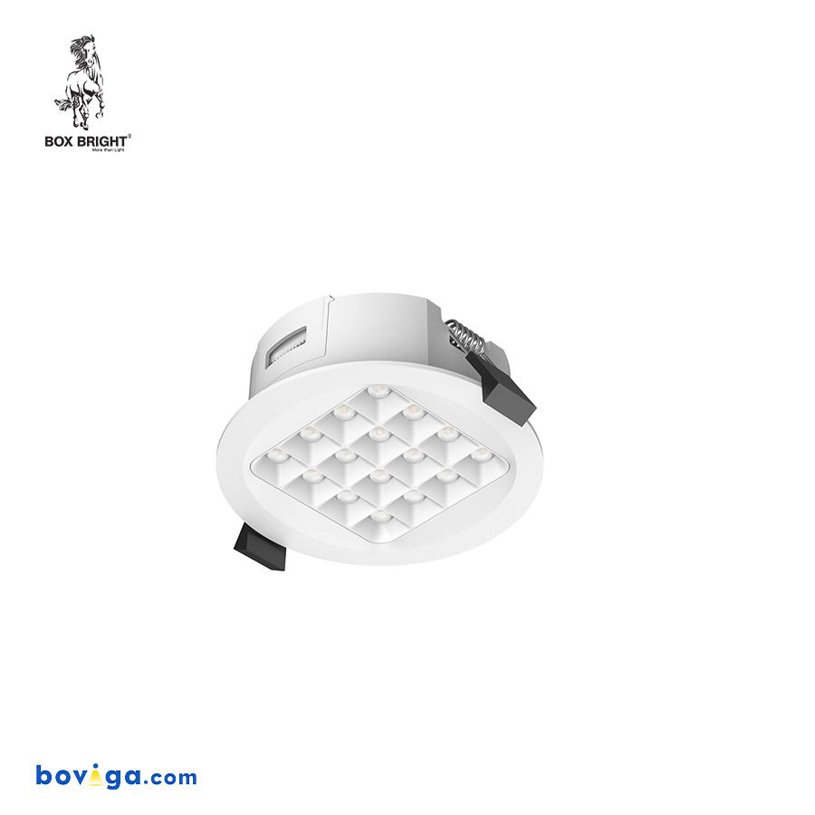 10W โคมไฟดาวน์ไลท์ฝังฝ้ารุ่น DL96 หน้ากว้าง 3 นิ้ว สีขาว | แบรนด์ BOX BRIGHT