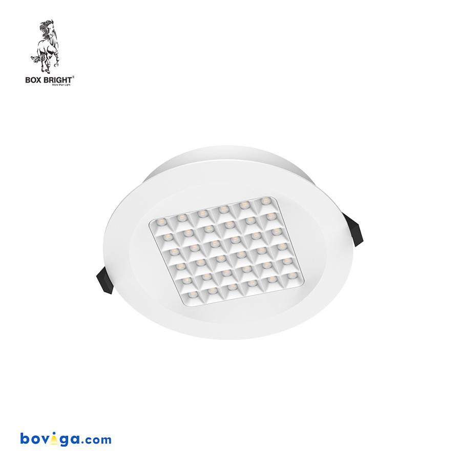 18W โคมไฟดาวน์ไลท์ฝังฝ้ารุ่น DL96 หน้ากว้าง 6 นิ้ว สีขาว | แบรนด์ BOX BRIGHT