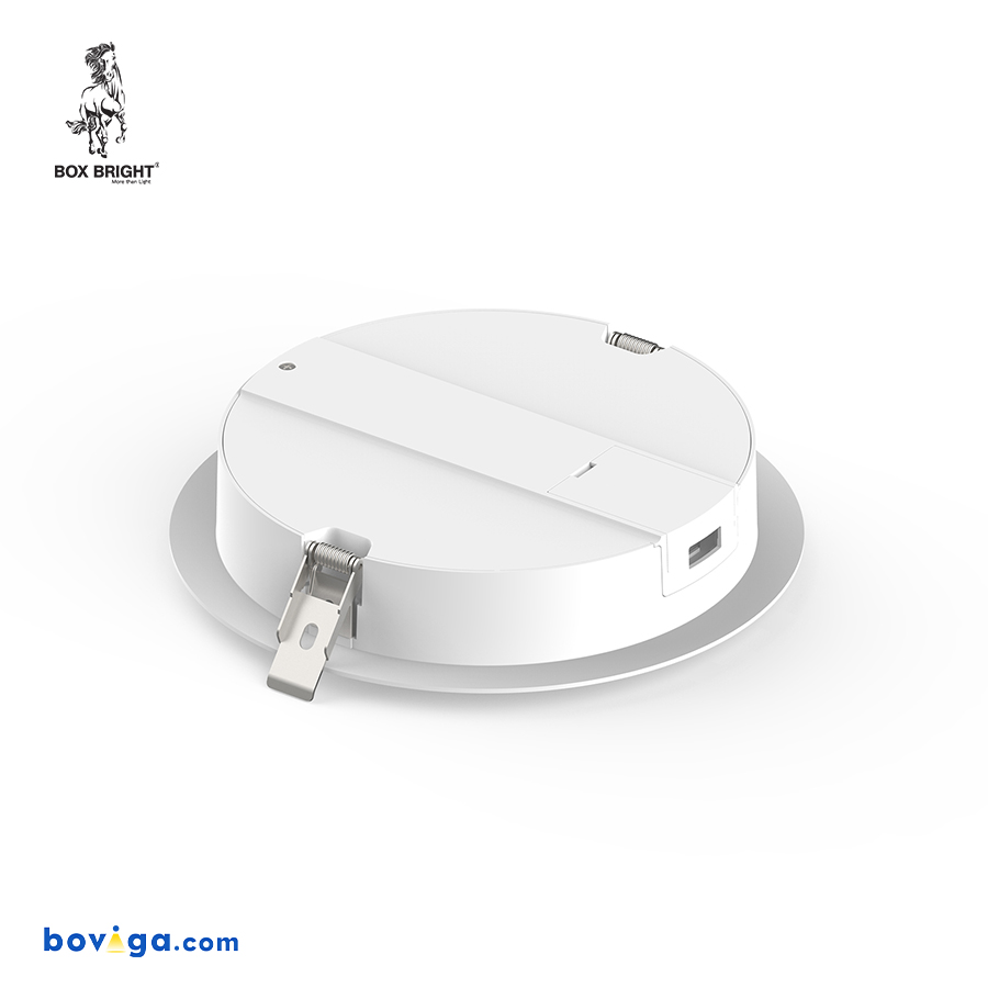 25W โคมไฟดาวน์ไลท์ฝังฝ้ารุ่น DL96 หน้ากว้าง 8 นิ้ว สีขาว   แบรนด์ BOX BRIGHT