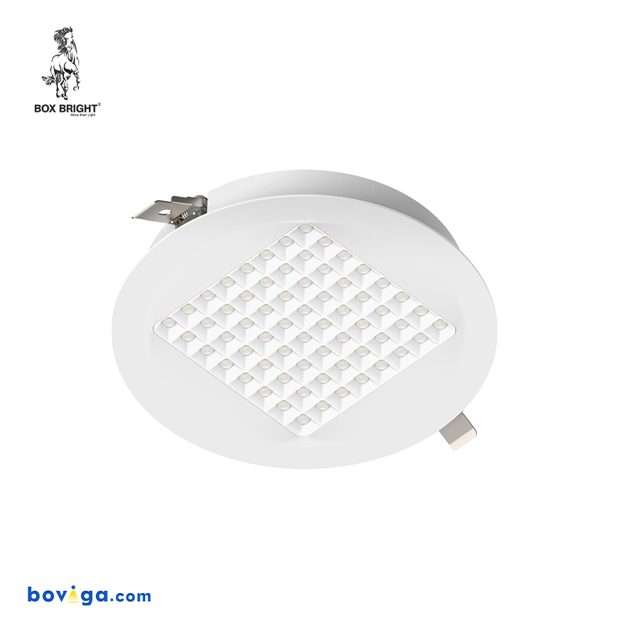 25W โคมไฟดาวน์ไลท์ฝังฝ้ารุ่น DL96 หน้ากว้าง 8 นิ้ว สีขาว | แบรนด์ BOX BRIGHT
