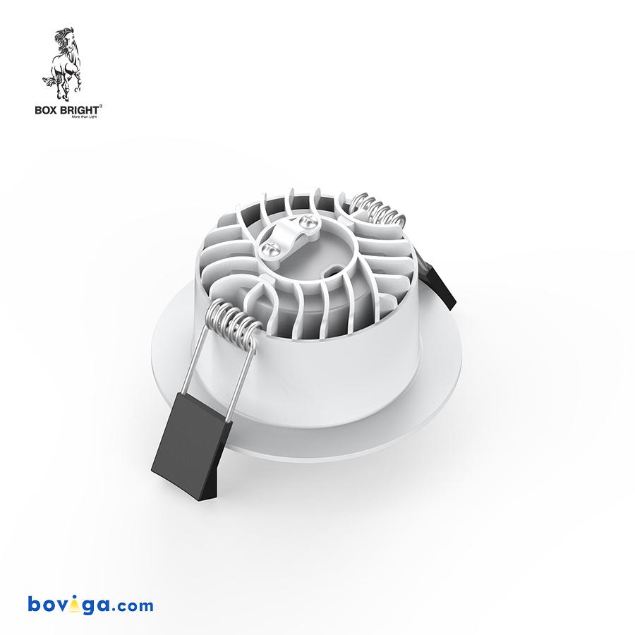 10W โคมไฟดาวน์ไลท์ฝังฝ้ารุ่น DL97 หน้ากว้าง 3 นิ้ว สีขาว | แบรนด์ BOX BRIGHT