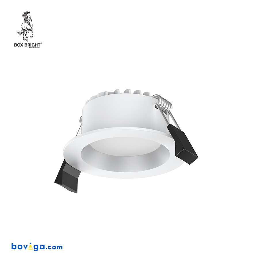 7W โคมไฟดาวน์ไลท์ฝังฝ้ารุ่น DL97 หน้ากว้าง 2.5 นิ้ว สีขาว | แบรนด์ BOX BRIGHT