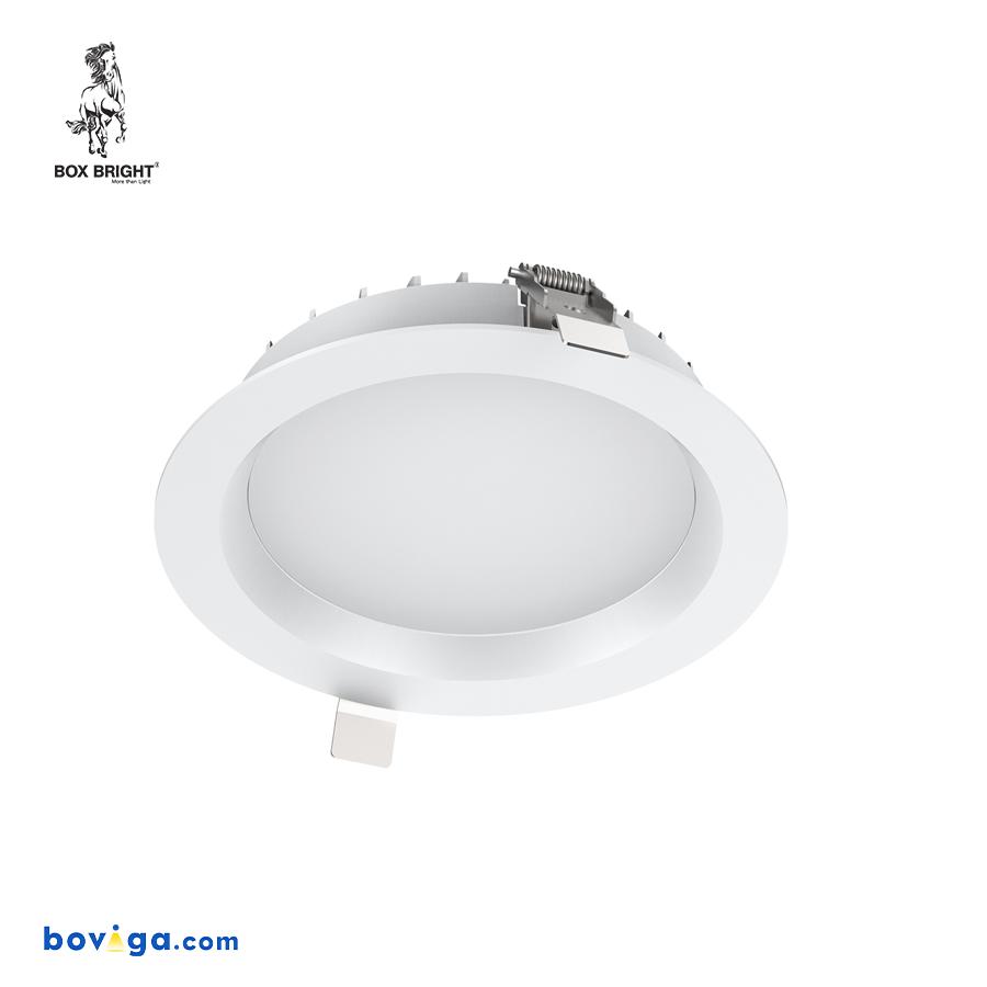 18W โคมไฟดาวน์ไลท์ฝังฝ้ารุ่น DL97 หน้ากว้าง 6 นิ้ว สีขาว | แบรนด์ BOX BRIGHT