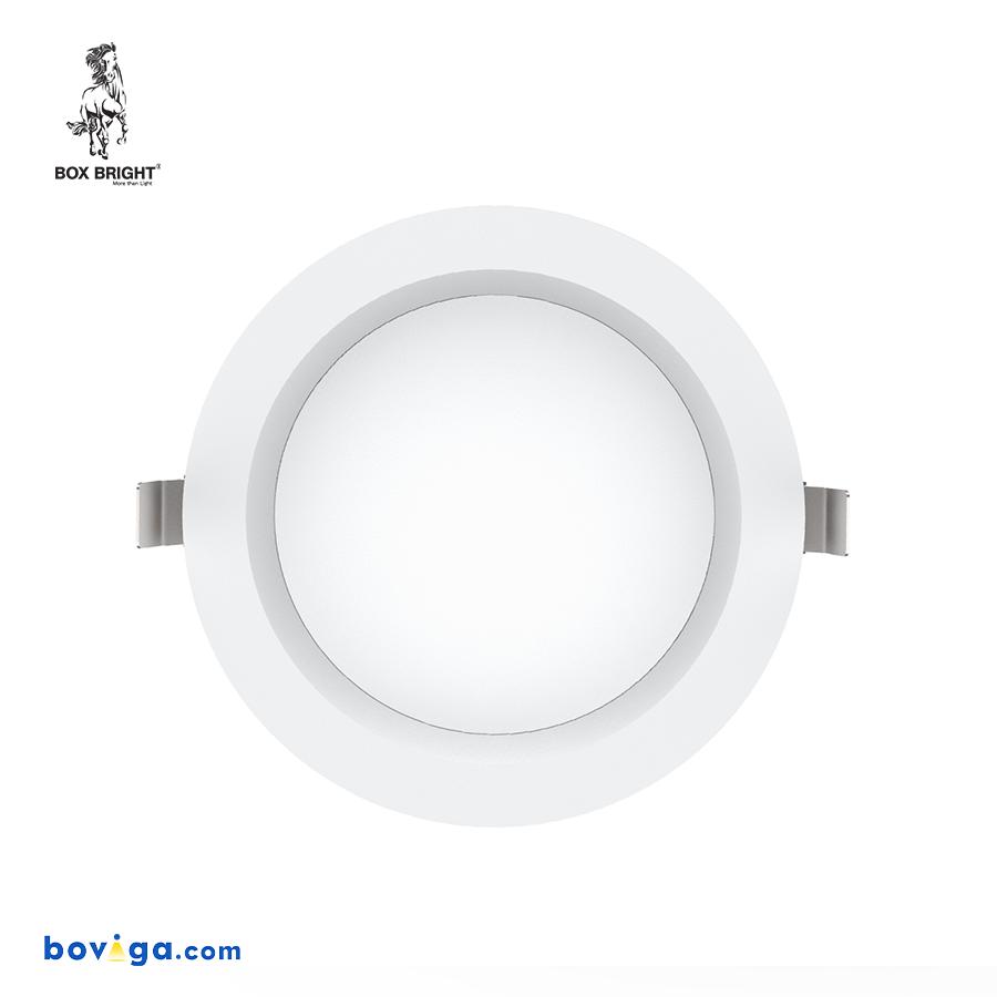 25W โคมไฟดาวน์ไลท์ฝังฝ้ารุ่น DL97 หน้ากว้าง 8 นิ้ว สีขาว | แบรนด์ BOX BRIGHT