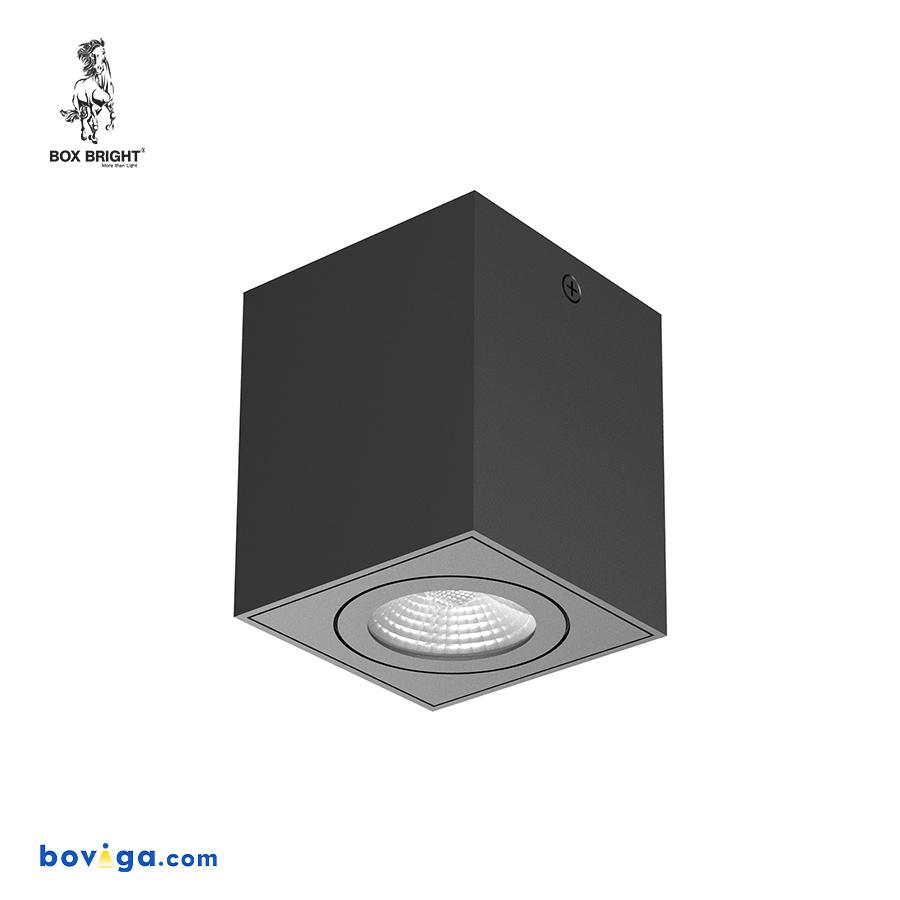 20W โคมไฟดาวน์ไลท์ติดลอย รุ่น DL129 สีดำ | แบรนด์ BOX BRIGHT