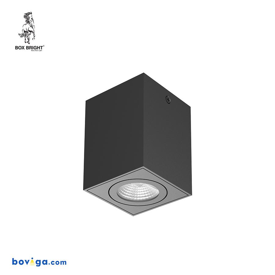 10W โคมไฟดาวน์ไลท์ติดลอย รุ่น DL129 สีดำ | แบรนด์ BOX BRIGHT