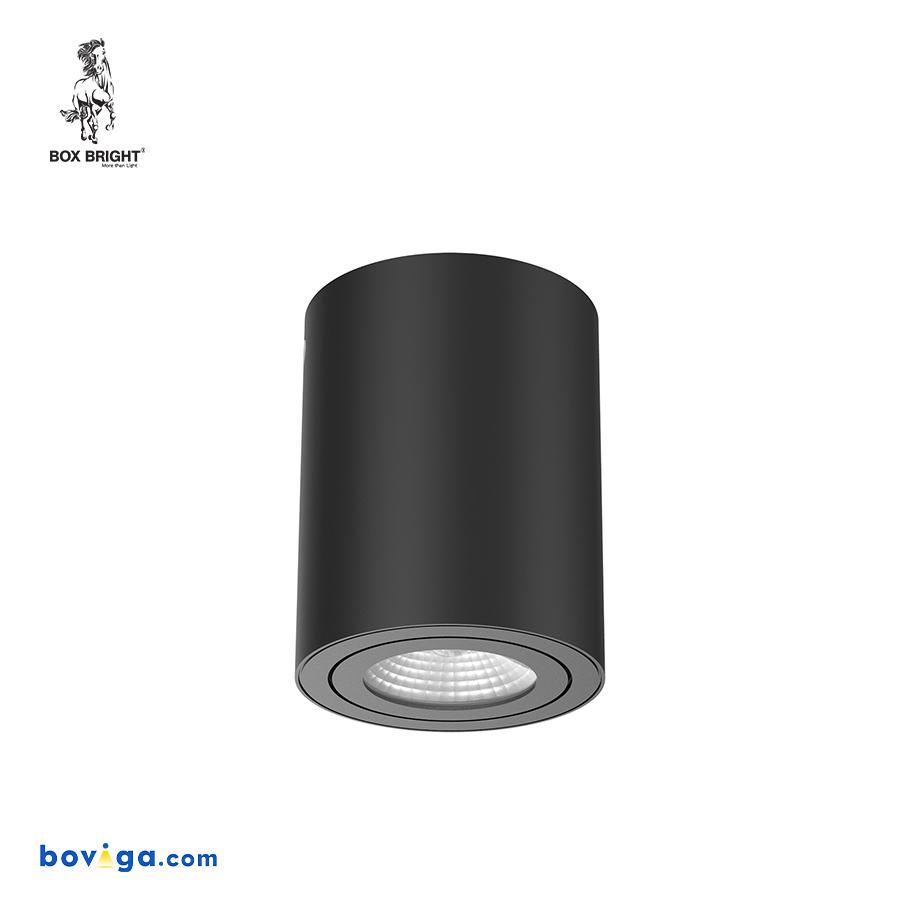 10W โคมไฟดาวน์ไลท์ติดลอย รุ่น DL130 สีดำ | แบรนด์ BOX BRIGHT