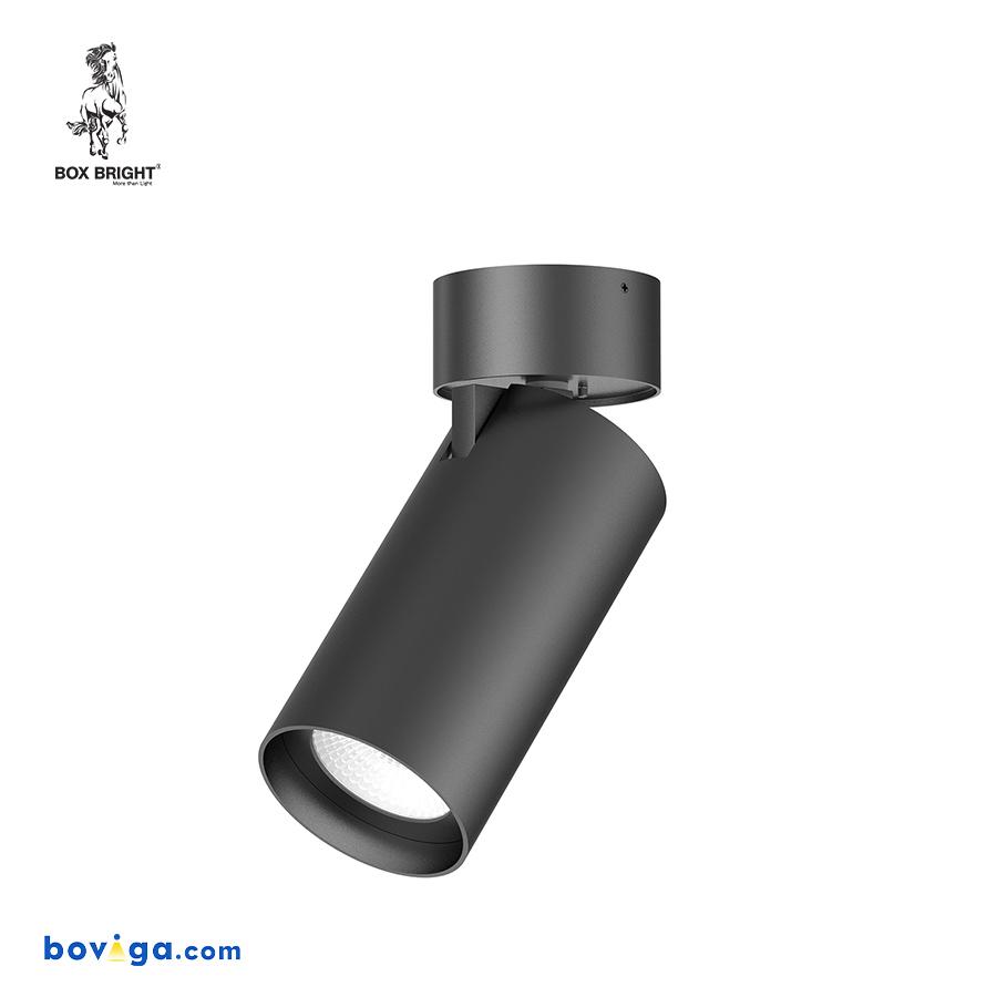 25W โคมไฟดาวน์ไลท์ติดลอย รุ่น DL207 สีดำ | แบรนด์ BOX BRIGHT