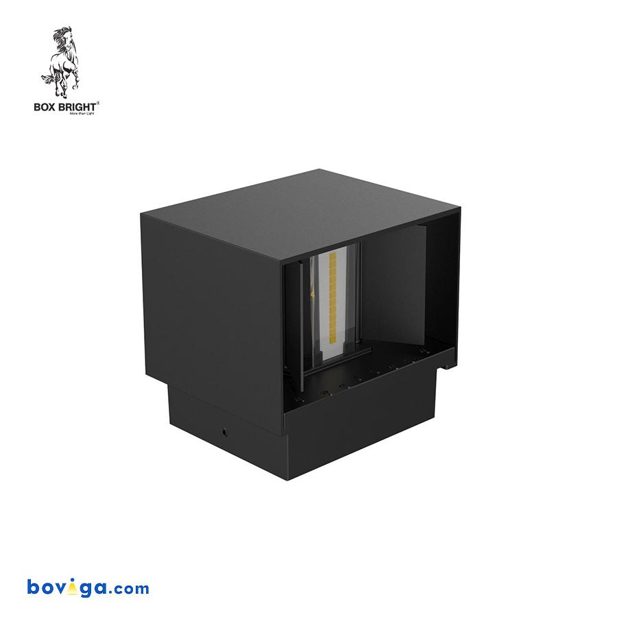 10W โคมไฟติดผนัง รุ่น WL20 สีดำ | แบรนด์ BOX BRIGHT
