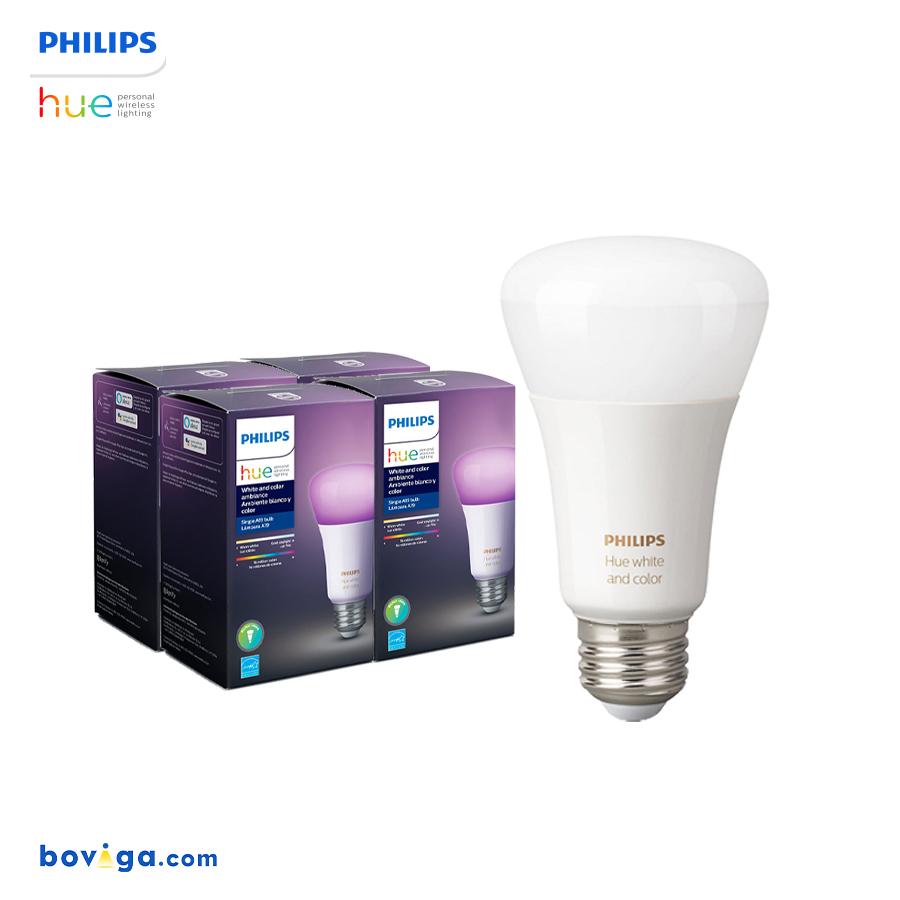 Philips Hue Bulb Set - เซตหลอดไฟเปลี่ยนสีอัจฉริยะ 4 หลอด