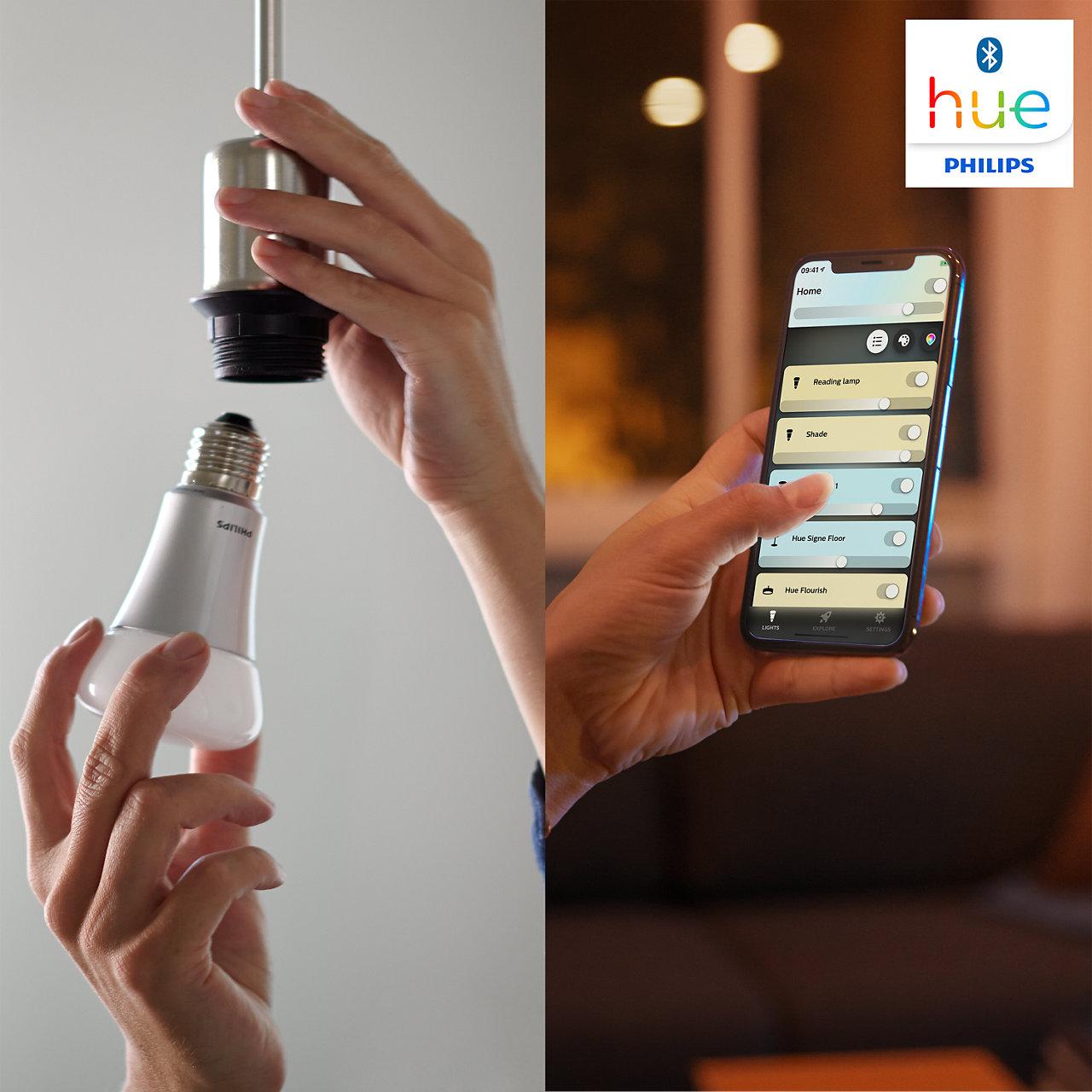 Philips hue ใช้งานง่าย ตั้งค่าผ่าน Application