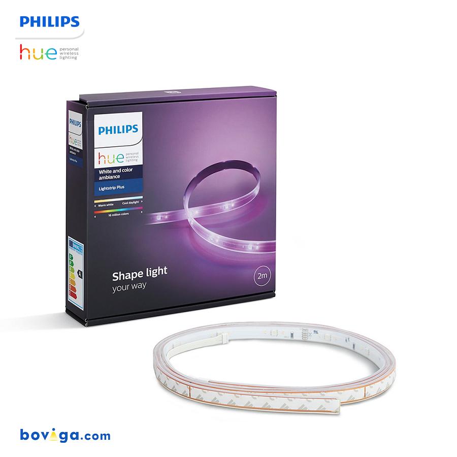 Philips Hue LightStrip Plus - ไฟเส้นเปลี่ยนสีอัจฉริยะ ชุดเริ่มต้นยาว 2 เมตร